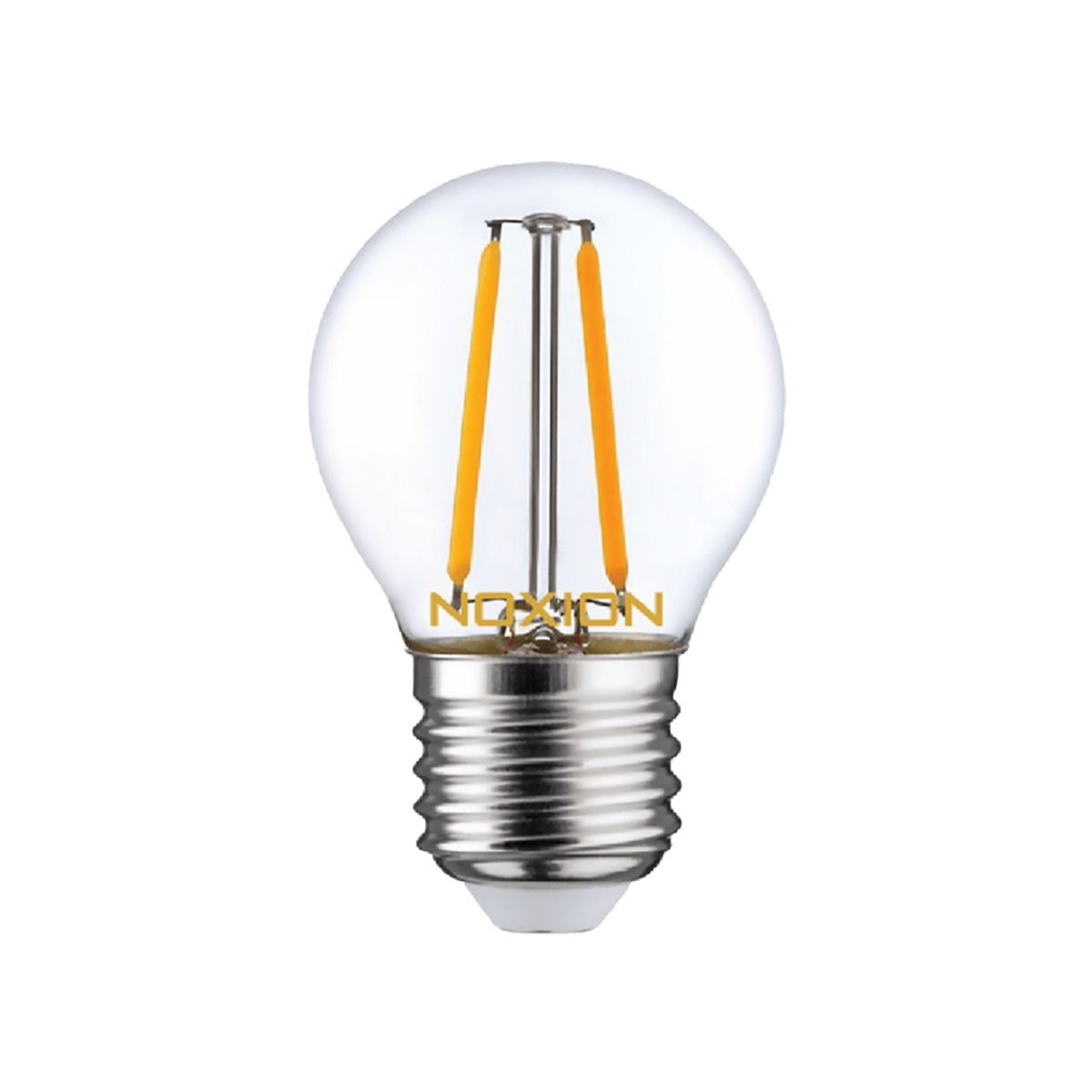 Noxion Lucent LED Lustre E27 2.5W 827 Filament   Dimmable - Replacer for 25W