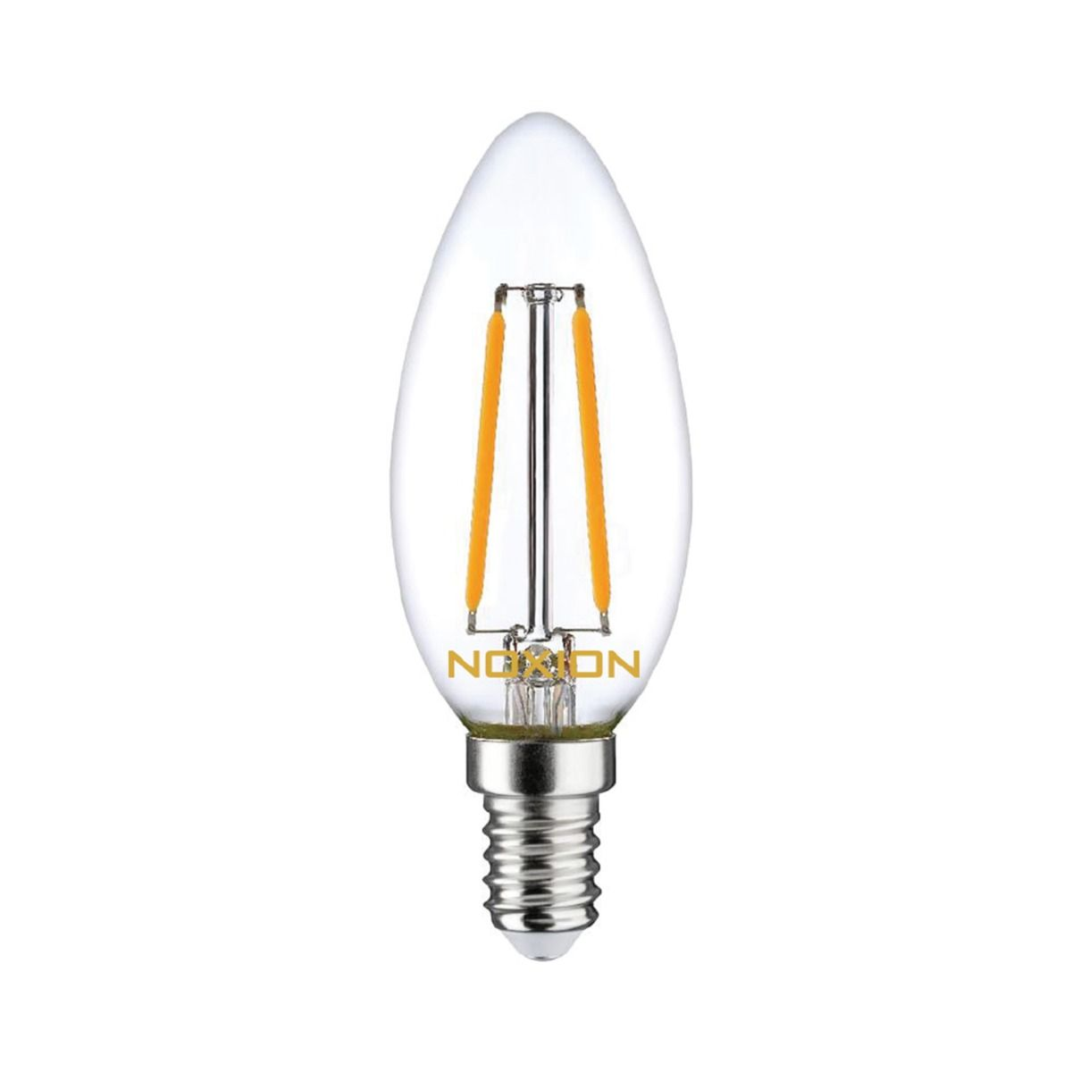 Noxion Lucent Filament LED Candle B35 E14 2.5W 250lm 827 | Dimmable  – replacer for 25W