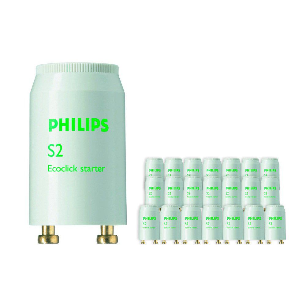 Multipack 25x Philips S2 Starter 4-22W SER