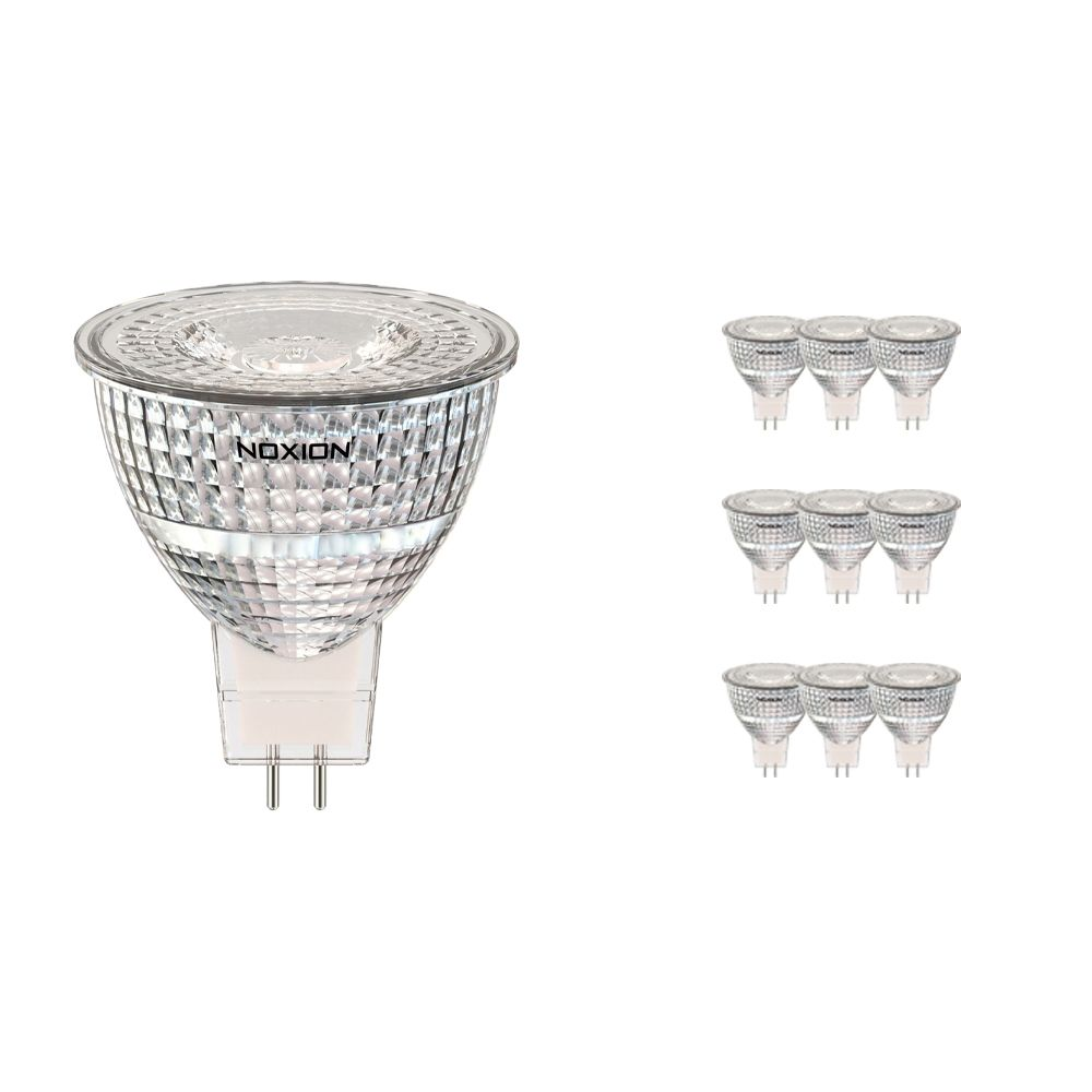 Multipack 10x Noxion LED Spot GU5.3 7.8W 830 36D 730lm | Replacer for 50W