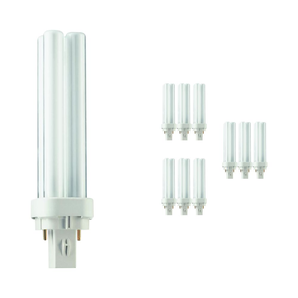 Multipack 10x Philips PL-C 13W 830 2P (MASTER) | 2 Pin