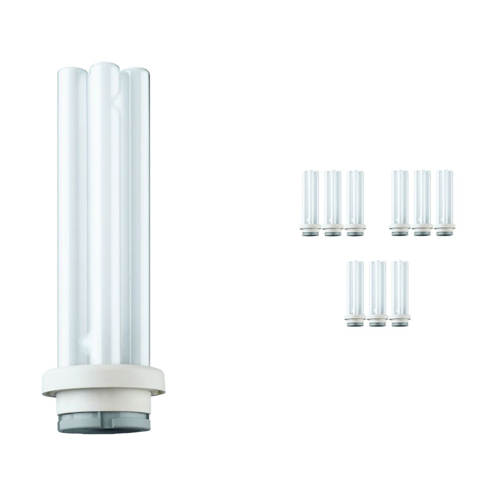 Multipack 10x Philips PL-R Eco 17W 830 4P (MASTER)   4 Pin