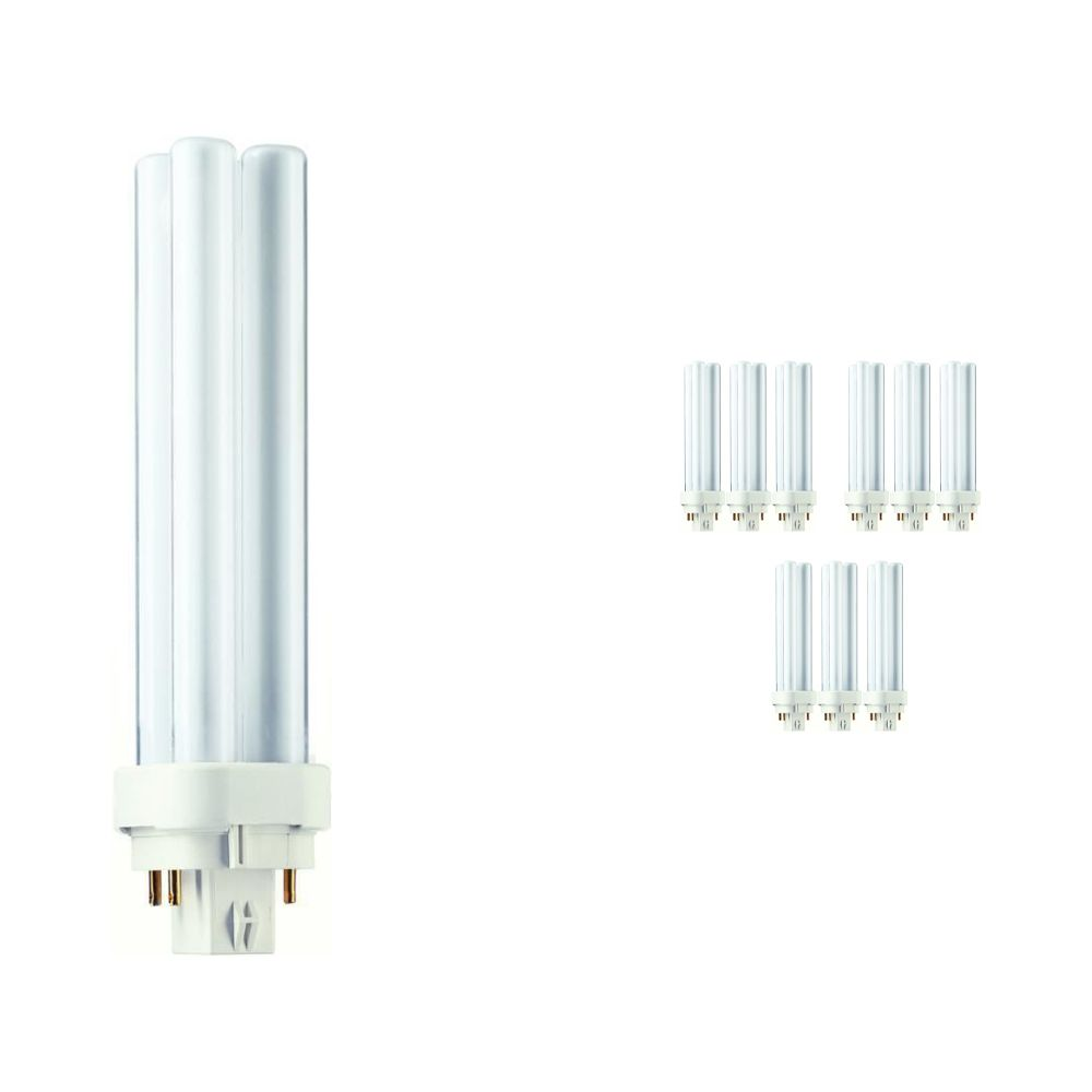 Multipack 10x Philips PL-C 18W 840 4P (MASTER) | 4 Pin