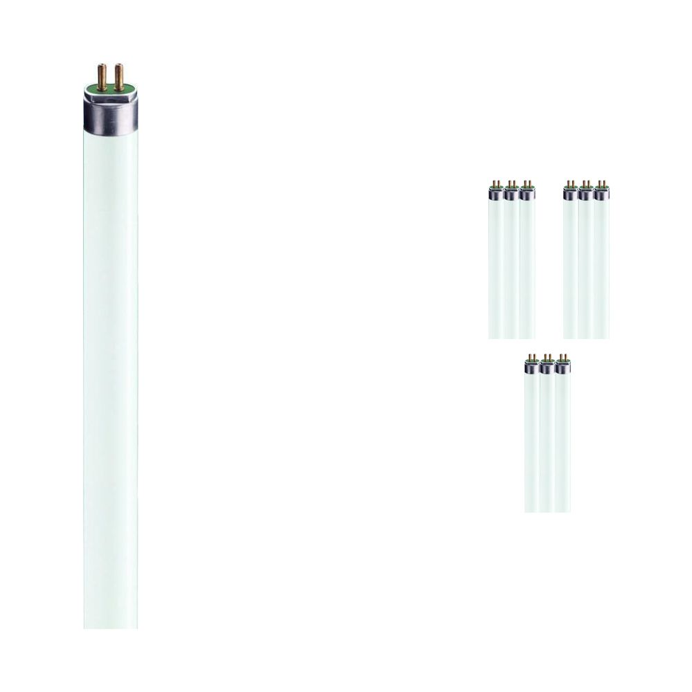 Multipack 10x Philips TL5 HE 35W 830 (MASTER) | 145cm - Warm White