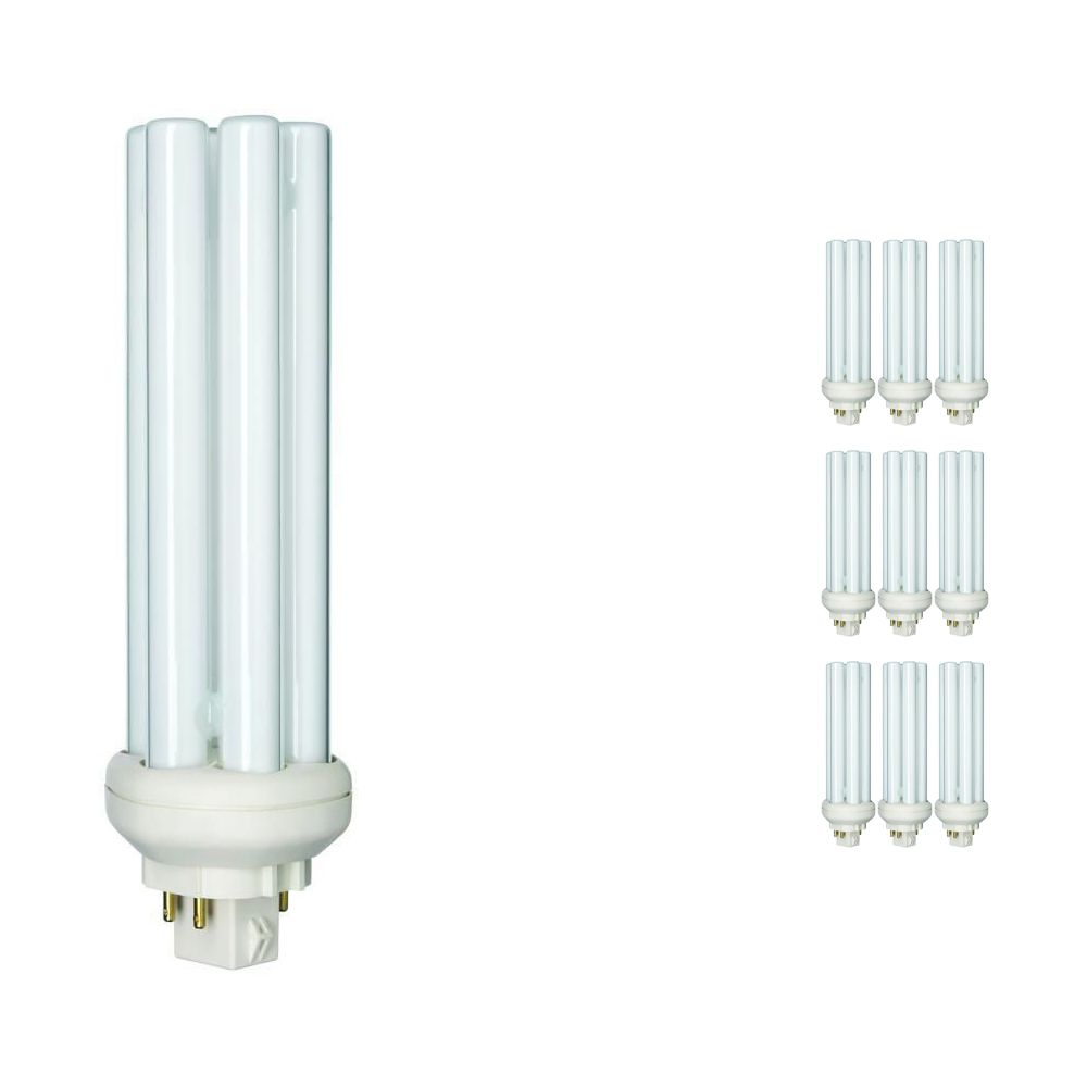 Multipack 10x Philips PL-T 42W 840 4P (MASTER)   Cool White - 4-Pin