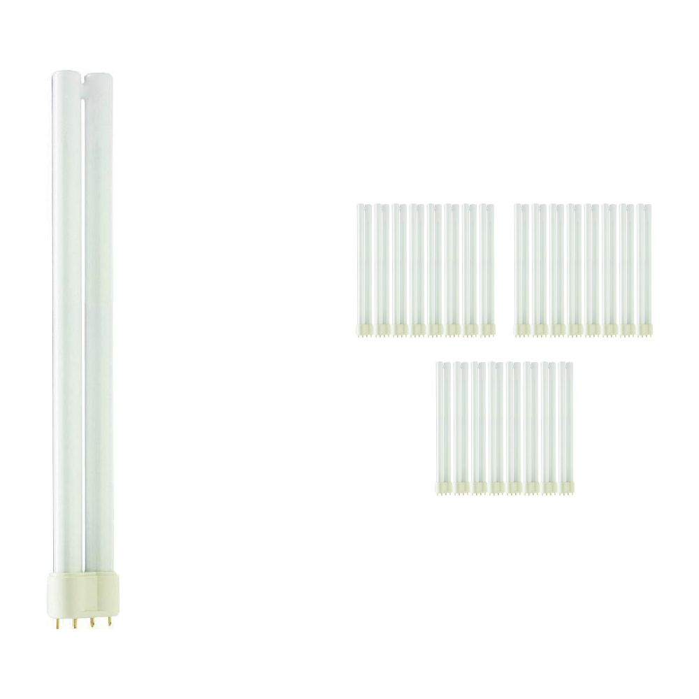 Multipack 25x Philips PL-L 24W 830 4P (MASTER) | Warm White - 4-Pin