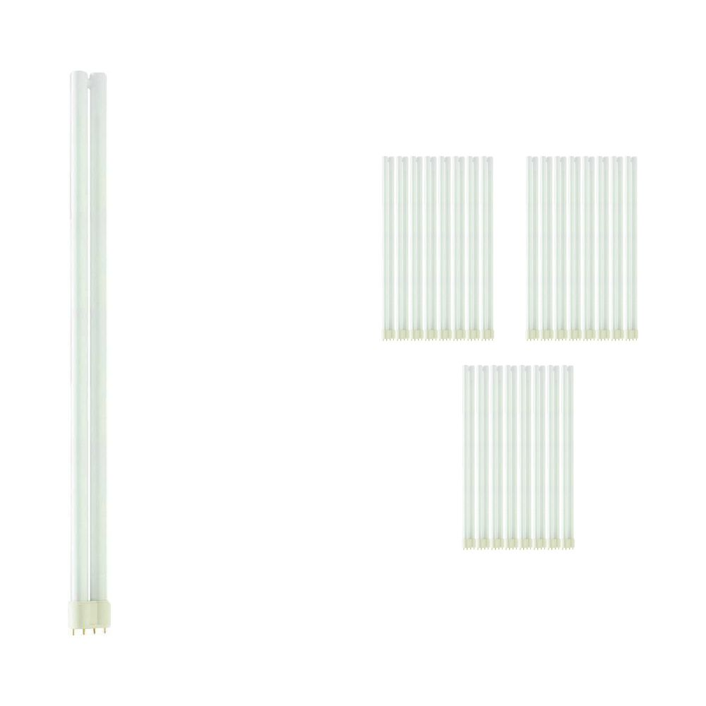Multipack 25x Philips PL-L 55W 830 4P (MASTER)   Warm White - 4-Pin