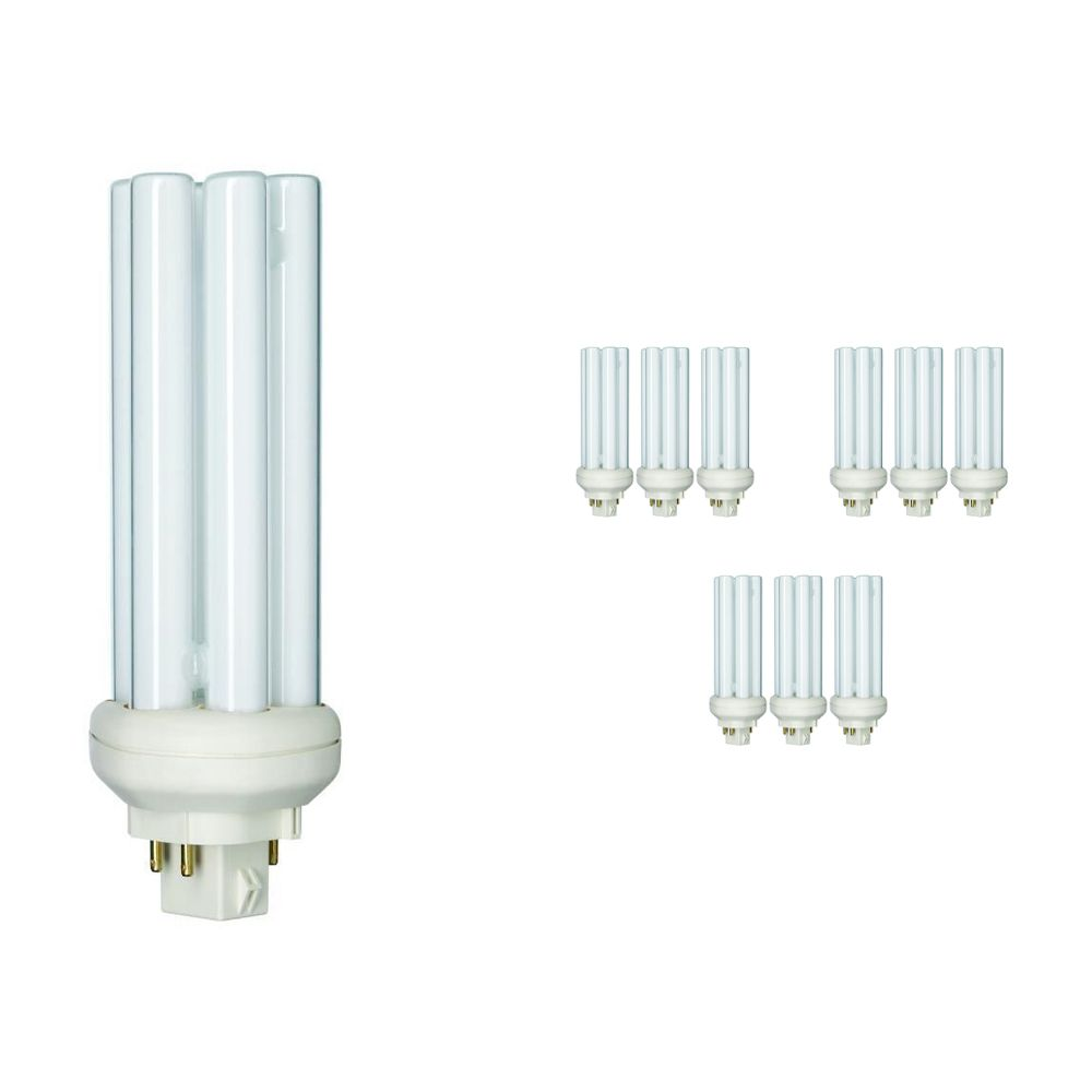 Multipack 10x Philips PL-T 32W 840 4P (MASTER) | Cool White - 4-Pin