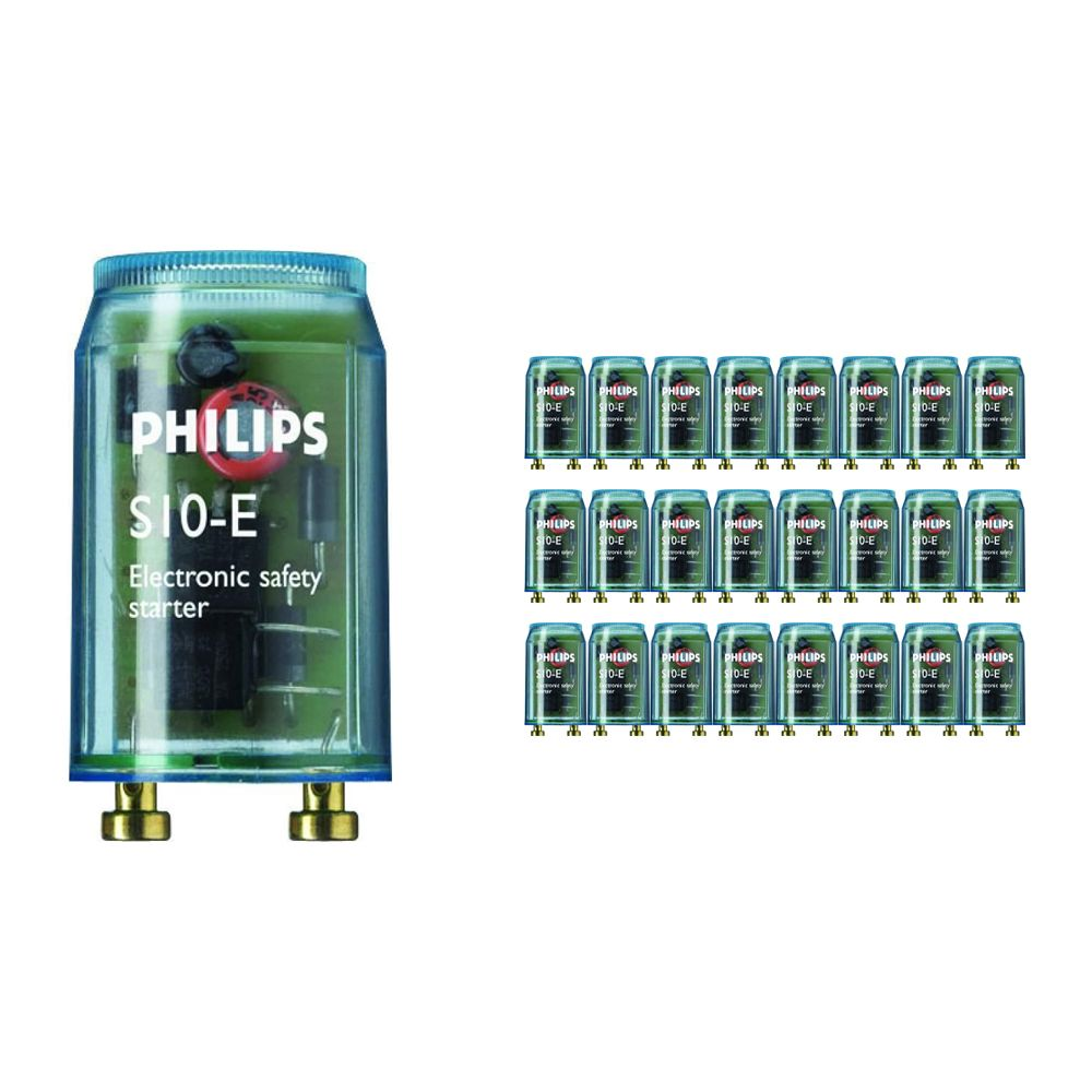 Multipack 25x Philips S10E 18-75W SIN 220-240V BL