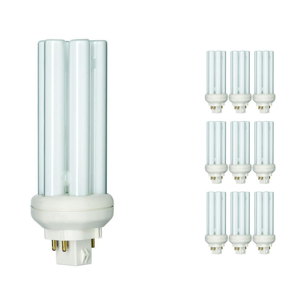 Multipack 10x Philips PL-T 26W 840 4P (MASTER)   Cool White - 4-Pin