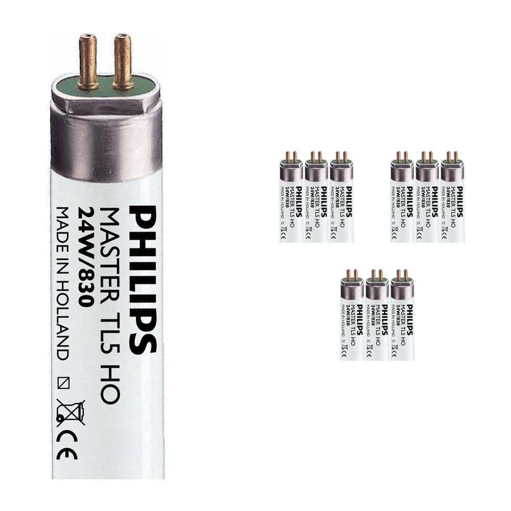 Multipack 10x Philips TL5 HO 24W 830 (MASTER)   55cm