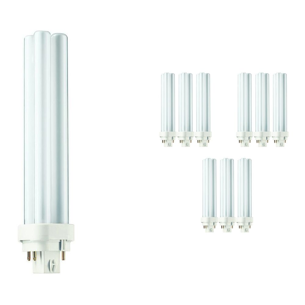 Multipack 10x Philips PL-C 26W 827 4P (MASTER)   4 Pin