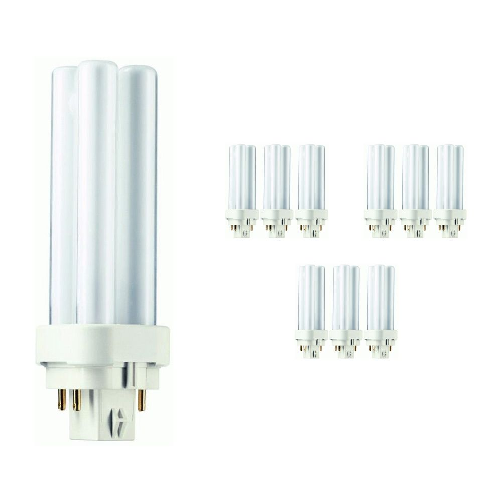 Multipack 10x Philips PL-C 10W 830 4P (MASTER) | 4 Pin