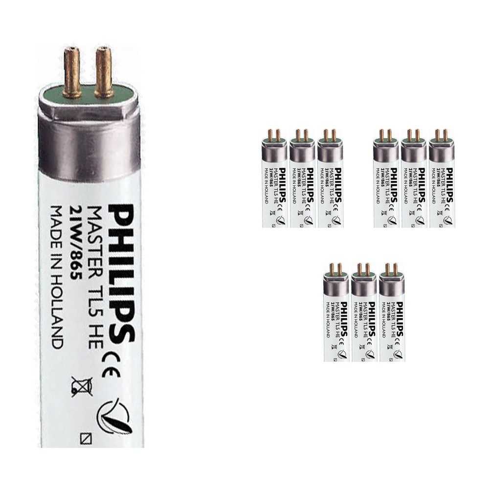 Multipack 10x Philips TL5 HE 21W 865 (MASTER)   85cm