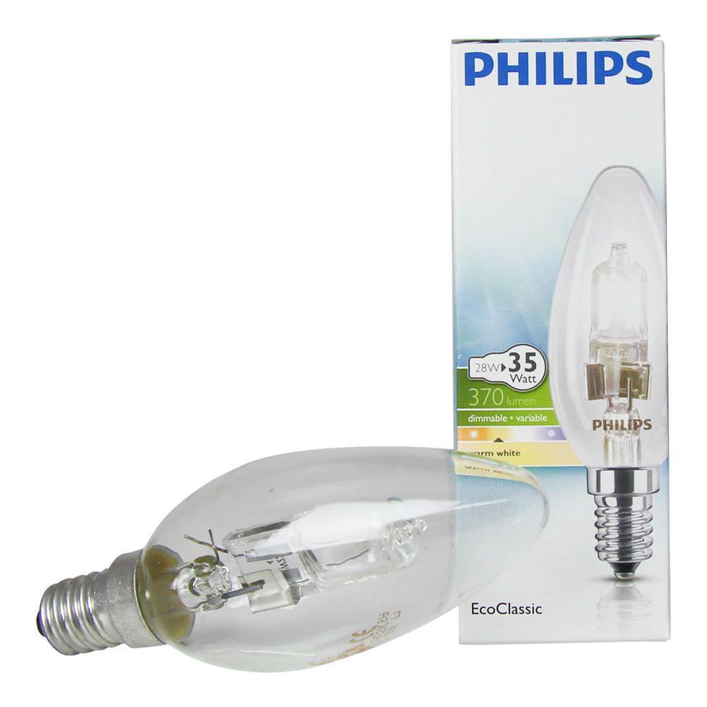 Philips EcoClassic 28W E14 230V B35 Clear
