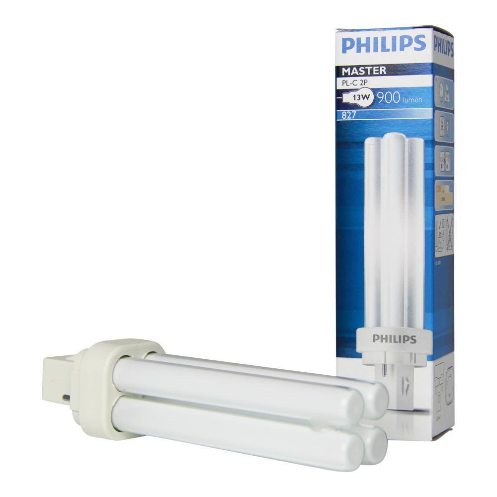 Philips PL-C 13W 827 2P MASTER | 2-Pin