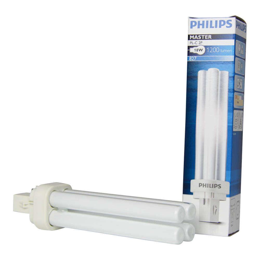 Philips PL-C 18W 827 2P MASTER | 2-Pin