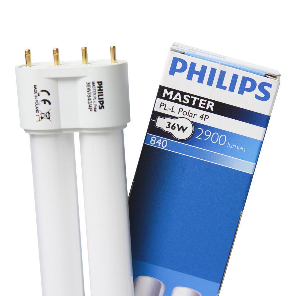 Philips PL-L 40W 840 4P MASTER | 4-Pin