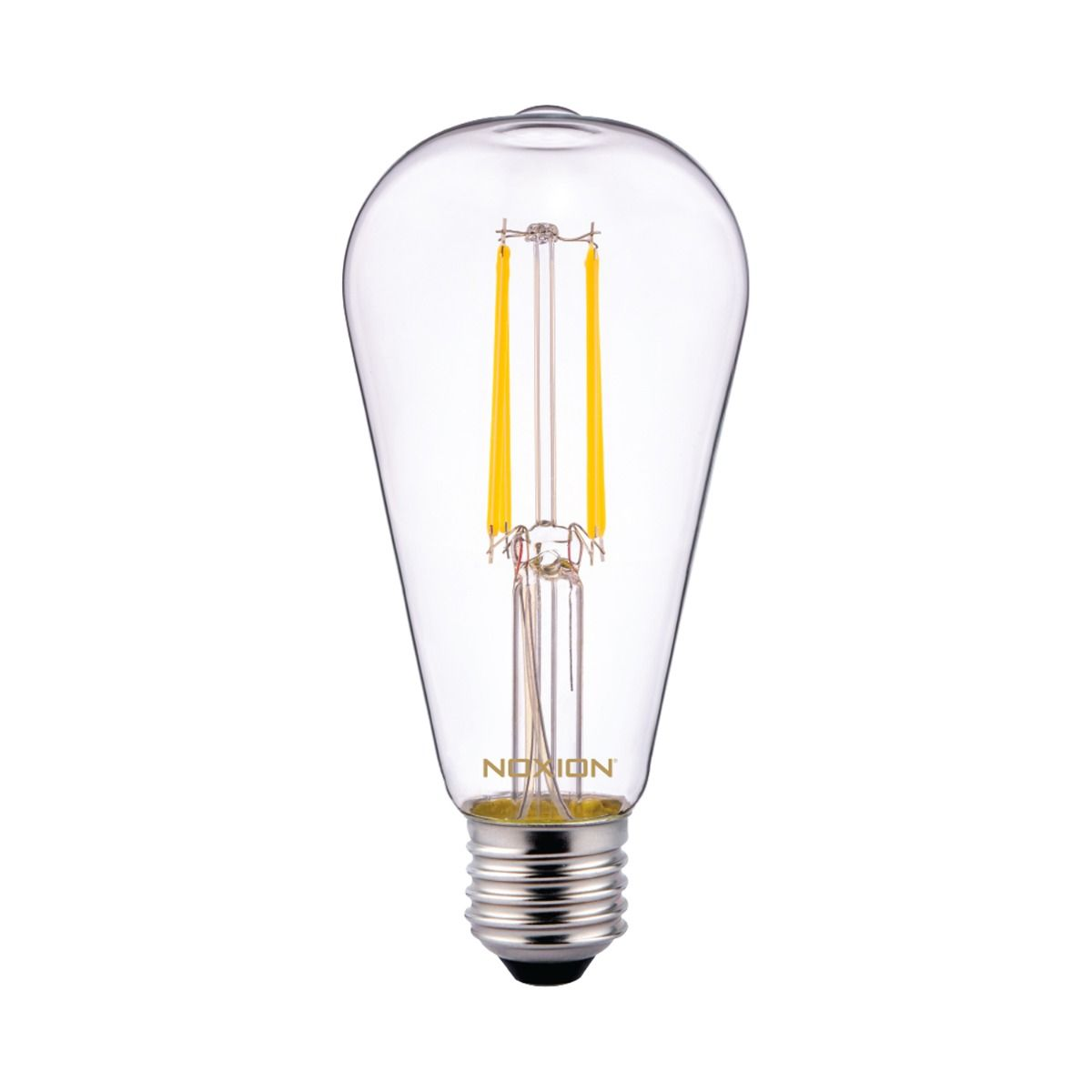 Noxion Lucent Classic LED Filament ST64 E27 6.5W 827 clear| replacer for 60W