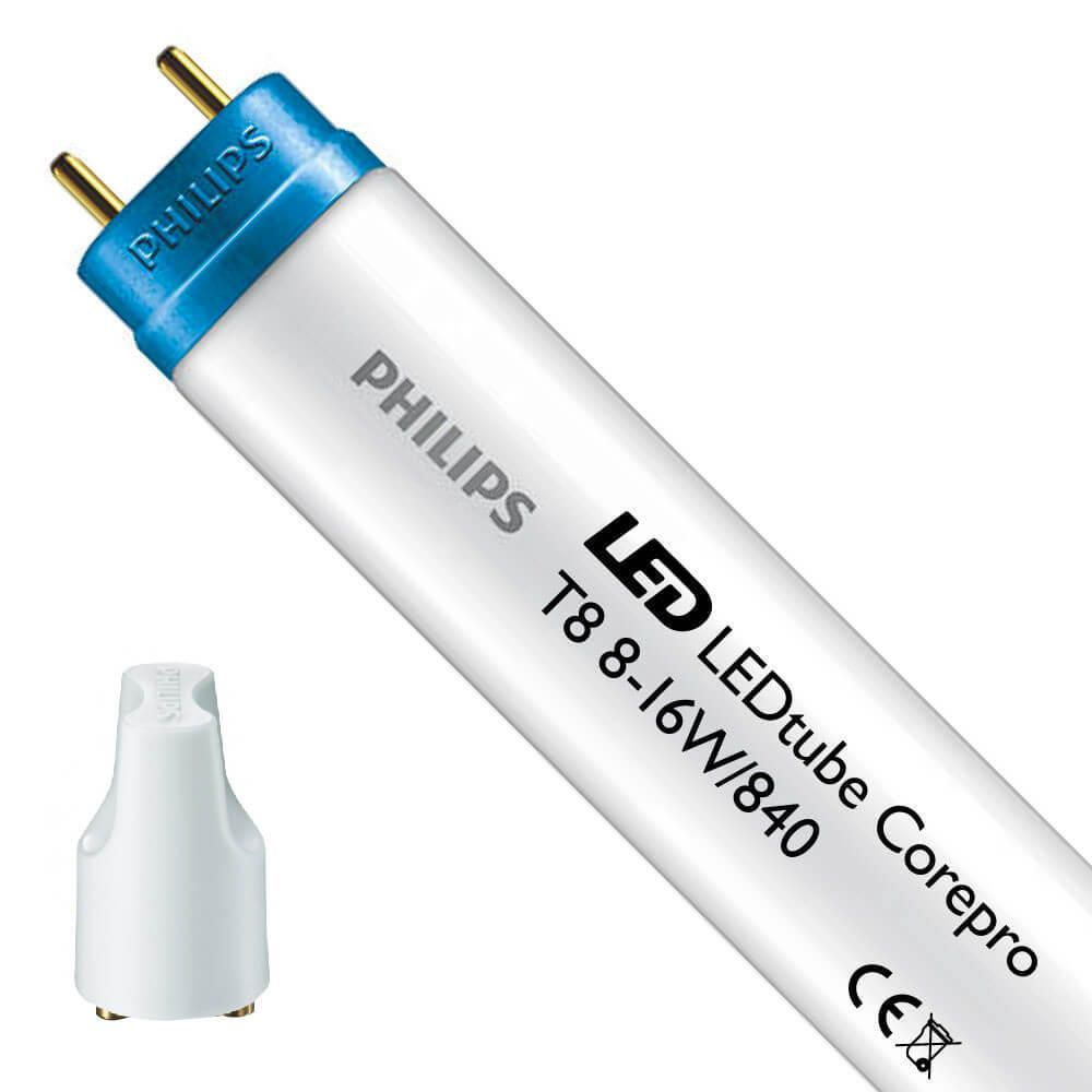 Philips CorePro LEDtube EM 8W 840 60cm | Replaces 18W