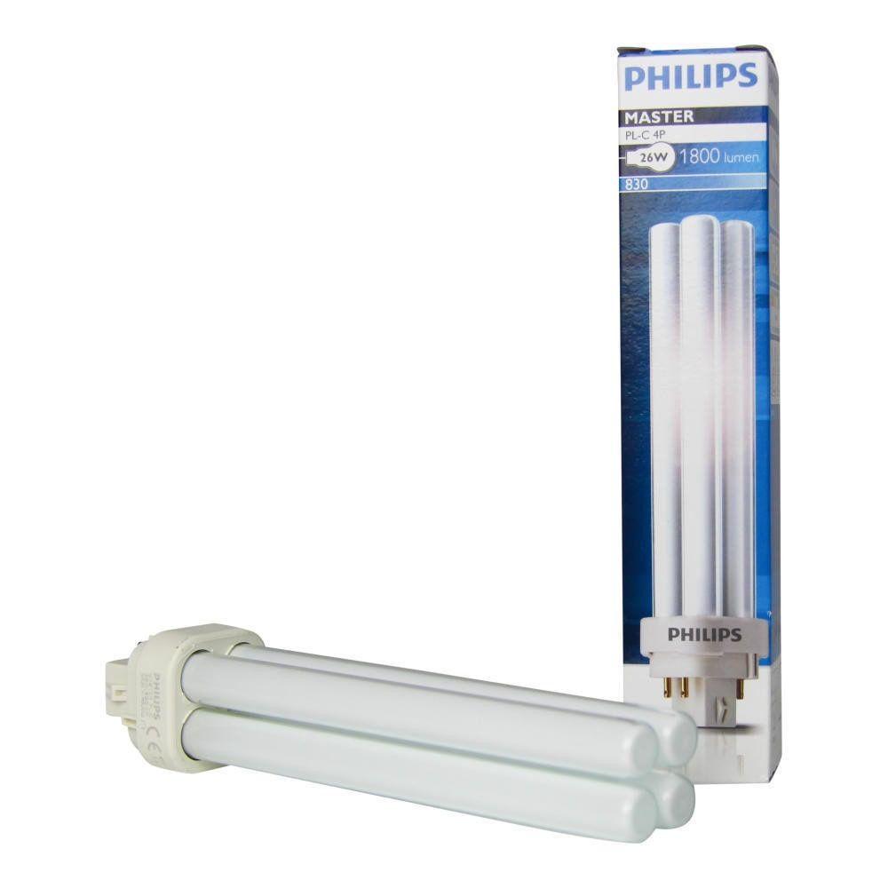 Philips PL-C 26W 830 4P MASTER | 4-Pin