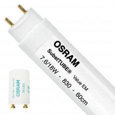 Osram SubstiTUBE Value EM 7.6W 830 60cm   Replaces 18W