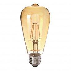 Sylvania ToLEDo Retro Edison E27 ST64 4W Gold | Replaces 35W